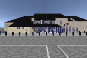 Minecraft - Extérieur Mairie (2)
