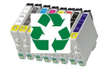 Cartouche d'imprimante recyclage