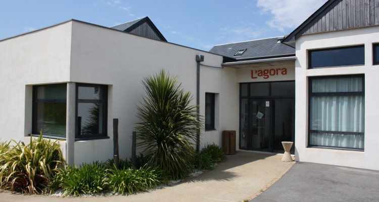 Médiathèque de l'Agora (vue avant)