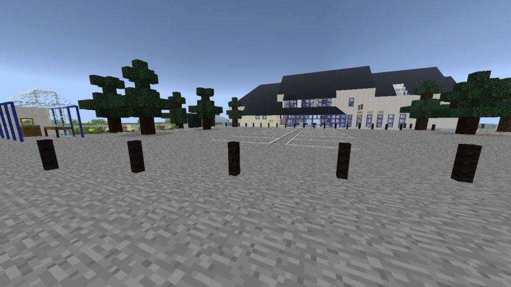 Minecraft – Extérieur Mairie (1)