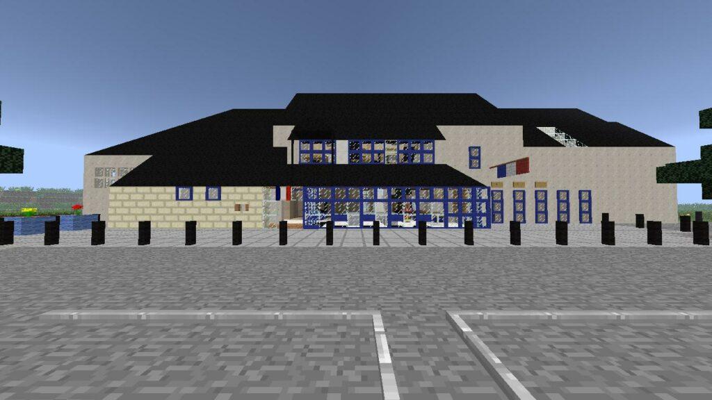 Minecraft – Extérieur Mairie (2)