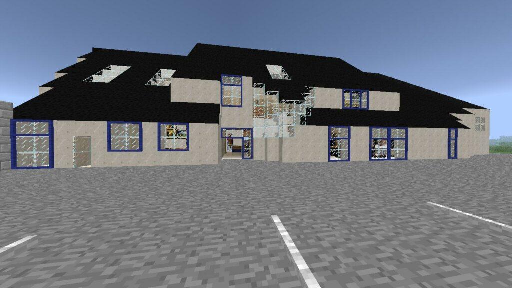 Minecraft – Extérieur Mairie (5)