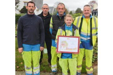 Récompense espaces verts concours villes et villages fleuris 2015