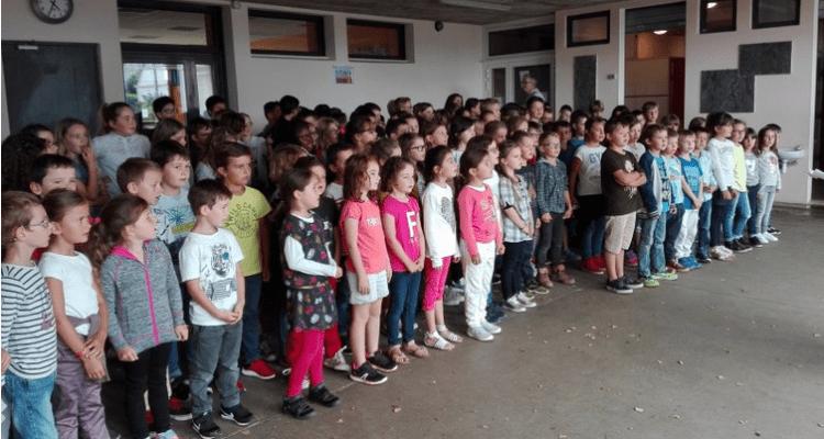 école Léonard de Vinci – Chant choral pour l'accueil des nouveaux – page 13