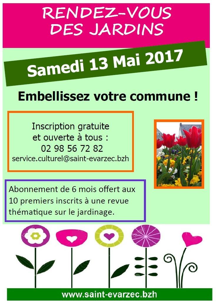 Rendez vous des jardins 2017 mairie de saint varzec for Rendez vous des jardins