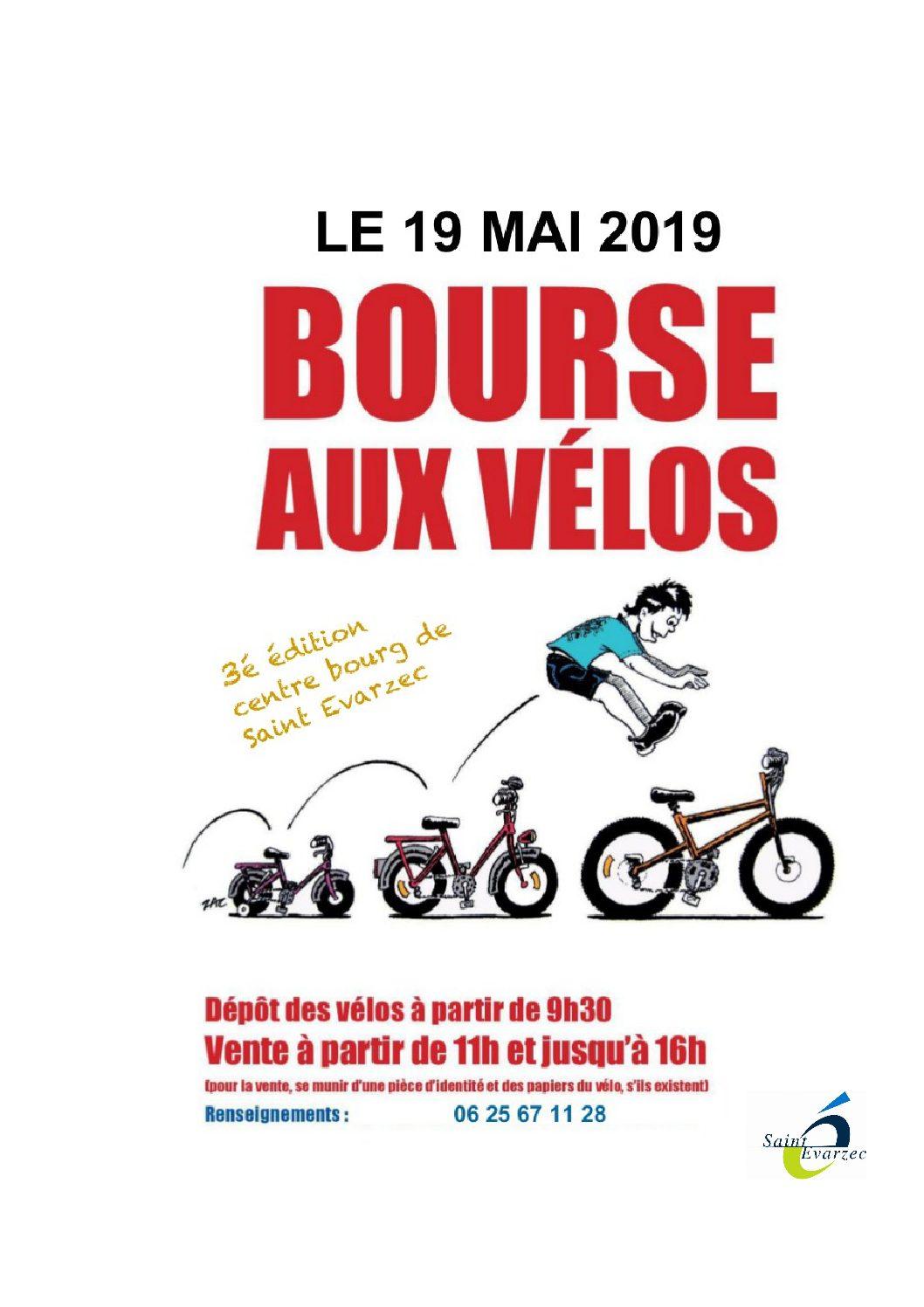 affiche bourse aux vélos