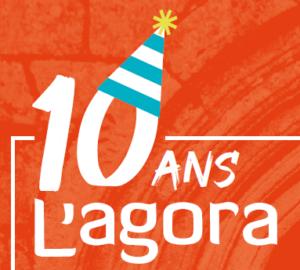 10_ans_agora_logo