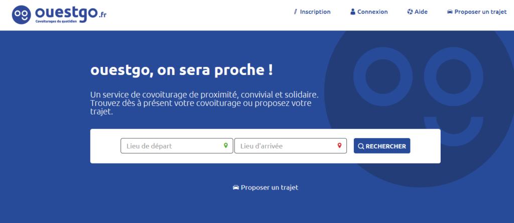Vous allez être re dirigé vers le site web de Ouestgo.fr