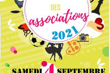Affiche Forum des associations 2021