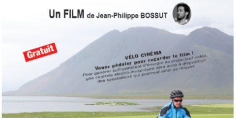 """Odyslande """"L'Islande à vélo"""" . Un film de Jean-Philippe BOSSUT."""
